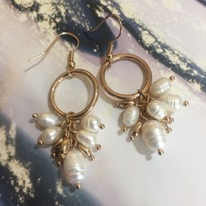 Saks Ava & Aiden Pearl Cluster Earrings